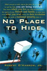Cover of: No Place to Hide | Robert O'Harrow