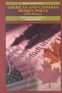 Cover of: American and Canadian Women Poets 1930 - Present | Harold Bloom
