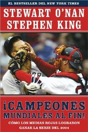 Cover of: Campeones mundiales al fin! by Stephen King