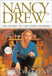 Cover of: The secret of the fiery chamber | Carolyn Keene
