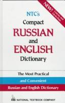 Cover of: Ntc's Compact Russian and English Dictionary by L. P. Popova