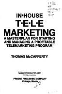 Cover of: In-house Telemarketing | Thomas A. McCafferty