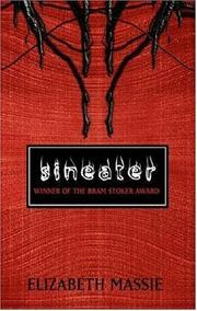 Cover of: Sineater | Elizabeth Massie