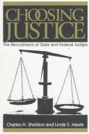 Cover of: Choosing justice | Charles H. Sheldon