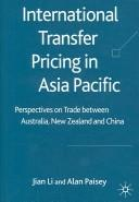 Cover of: International Transfer Pricing by Jian Li