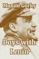 Cover of: Days with Lenin by Maksim Gorky