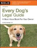 Cover of: Every Dog's Legal Guide by Mary Randolph