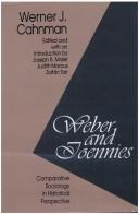 Cover of: Weber andToennies by Werner J. Cahnman