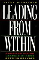 Cover of: Leading from Within | Peter Wildblood