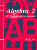 Cover of: Homeschool Packet for Algebra 2 (Saxon Algebra) by Saxon