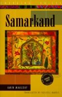 Cover of: Samarcande | Amin Maalouf