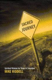 Cover of: The Sacred Journey | Michael Riddell