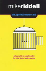 Cover of: Alt.spirit@metro.m3 | Michael Riddell