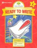 Cover of: Gifted & Talented, Ready to Write | Tracy Masonis