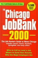 Cover of: The Chicago JobBank, 2000 | Steven Graber