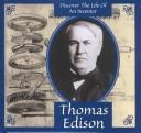 Cover of: Thomas Edison (Gaines, Ann. Inventors Discovery Library.) | Ann Gaines