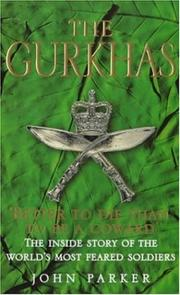 Cover of: The Gurkhas | John Parker