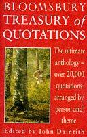 Cover of: Bloomsbury Treasury of Quotations | John Daintith