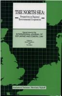Cover of: The North Sea:Perspectives on Regional Environmental Co-Operation | David Freestone