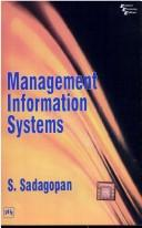 Cover of: Management Information Systems | S. Sadagopan