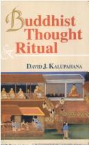 Cover of: Buddhist Thought and Ritual | David Kalupahana