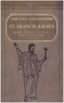 Cover of: The Life and Letters of St. Francis Xavier | Henry James Colridge