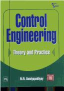 Cover of: Control Engineering | M.N. Bandyopadhyay