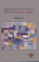 Cover of: First Comes the Night, Tamil Short Stories | Adhavan