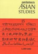 Cover of: Contributions to Asian Studies | M.D. Chaudhry