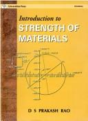 Cover of: Introduction to Strength of Materials | D.S. Rad