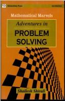 Cover of: Adventures in Problem Solving | Shailesh Shirali