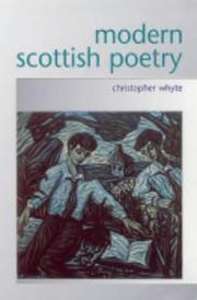 Cover of: Modern Scottish Poetry by Christopher Whyte