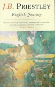 Cover of: English journey | J. B. Priestley
