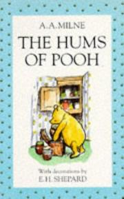 Cover of: The Hums of Pooh | A. A. Milne