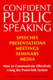 Cover of: Confident Public Speaking by Christian Godefroy