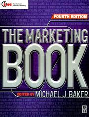 Cover of: The Marketing Book (Marketing Series (London, England).) | Michael J. Baker