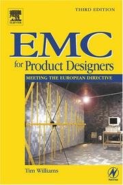 Cover of: EMC for product designers by Tim Williams