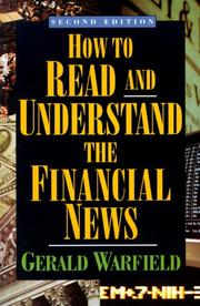 Cover of: How to Read Financial News | Gerald Warfield