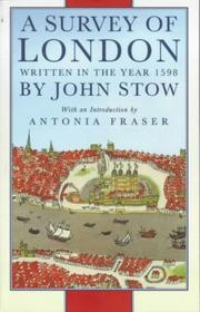 Cover of: Survey of London by John Stow