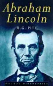 Cover of: Abraham Lincoln by H. G. Pitt