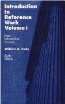 Cover of: Introduction to reference work | William A. Katz
