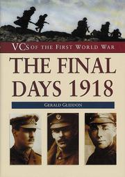 Cover of: The final days, 1918 | Gerald Gliddon