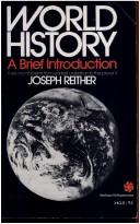 Cover of: World History | Joseph Riether