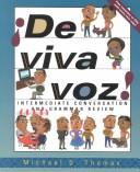 Cover of: De Viva Voz by Michael D. Thomas