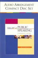 Cover of: The Art of Public Speaking by Stephen E. Lucas