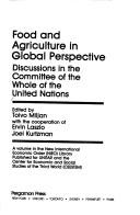 Cover of: Food and Agriculture in Global Perspective by United Nations. Committee of the Whole.