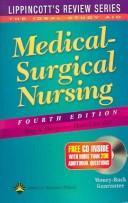 Cover of: Medical-surgical nursing | Ray A. Hargrove-Huttel