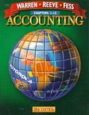 Cover of: Accounting (Chapters 1-12) | Carl S. Warren