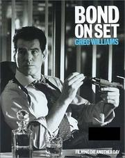 Cover of: Bond on Set by Greg Williams