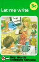 Cover of: Let Me Write | Unauthored